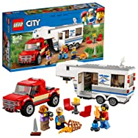 Lego City Pickup & Caravan 60182 Playset Toy