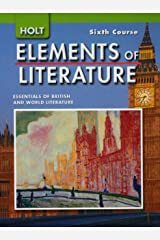 Elements of Literature 6th Course Hardcover