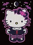 Art Sequin - KAD1226 - Peinture Au Numéro - Motif Hello Kitty - 25 x 34 Cm - Junior - Coloris Aléatoire