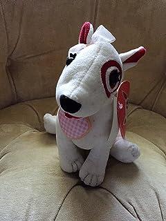 Amazon Com Target Bullseye Plush Dog Puppy Collection Toys Games