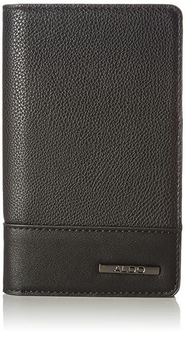 Aldo Mens Gaulle Wallet Black (Black Leather)