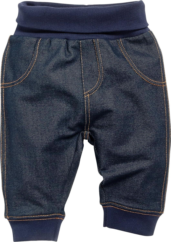 Schnizler Baby Sweat-Hose Jeans-Optik Pantaloni Sportivi Unisex-Bimbi
