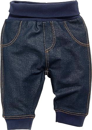 buy online 55f1d de897 Schnizler Baby Sweat-Hose, Babyhose in Jeans-Optik Mit ...