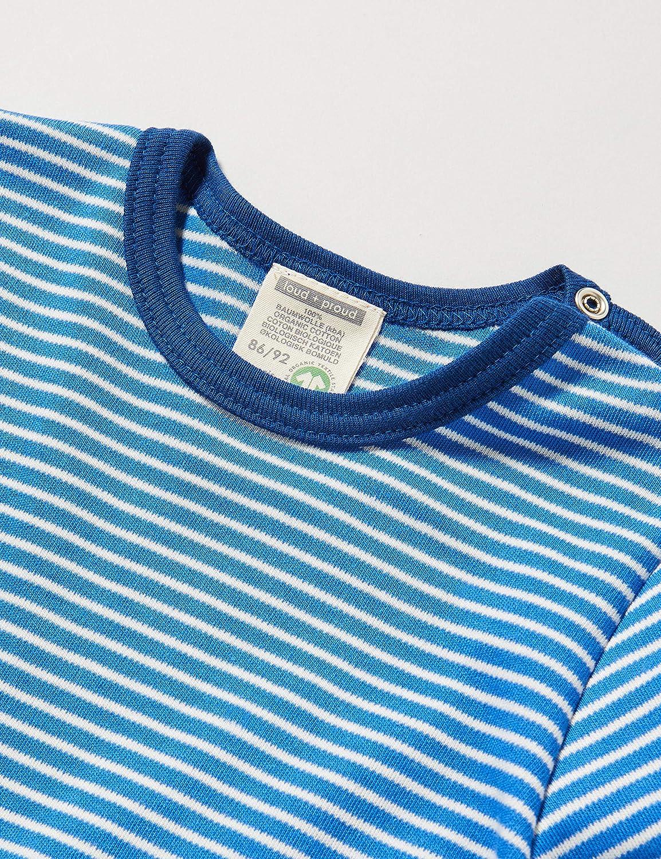 loud proud Jungen Striped Shirt Organic Cotton Langarmshirt