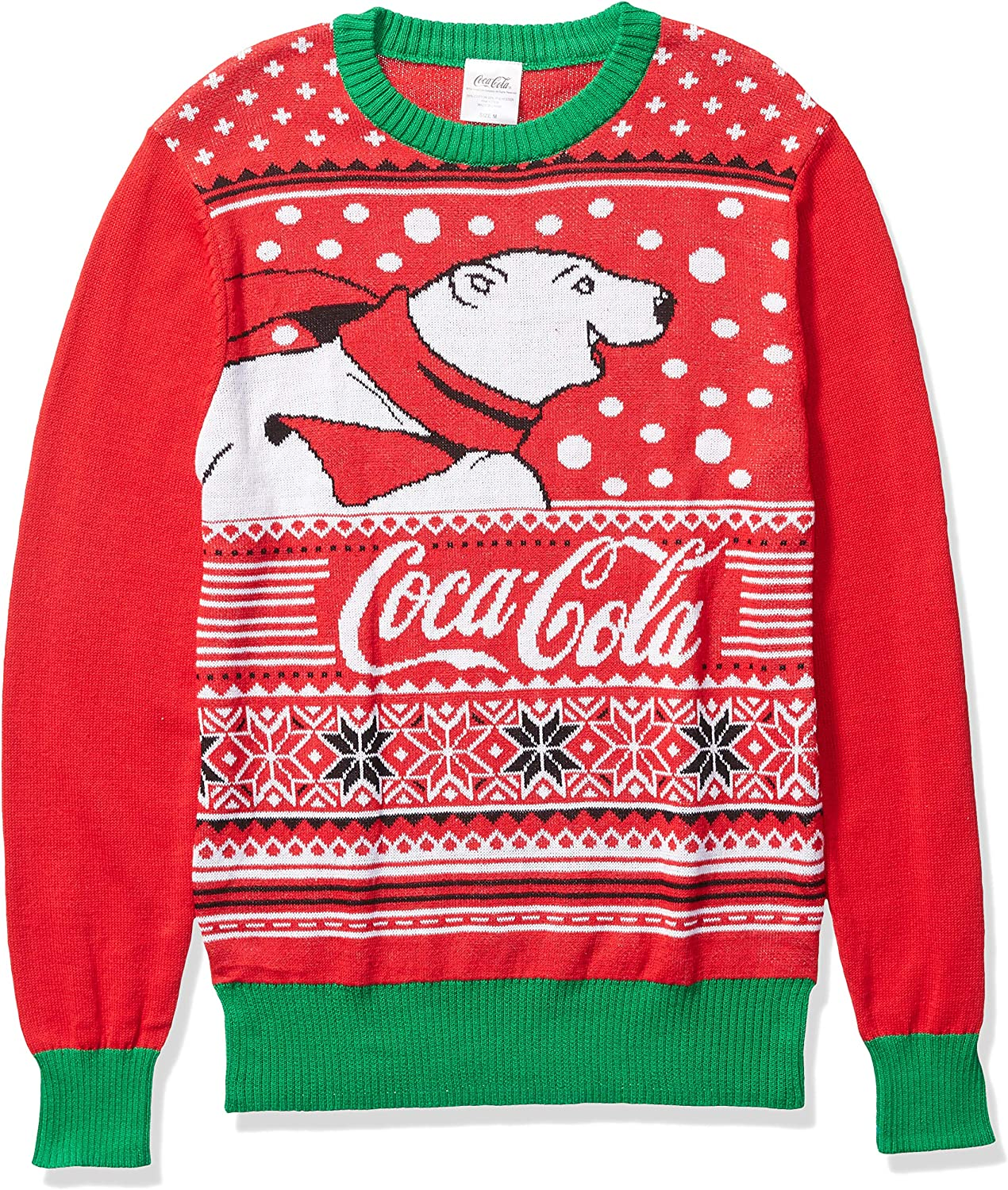 Coca Cola Men S Ugly Christmas Sweater Clothing
