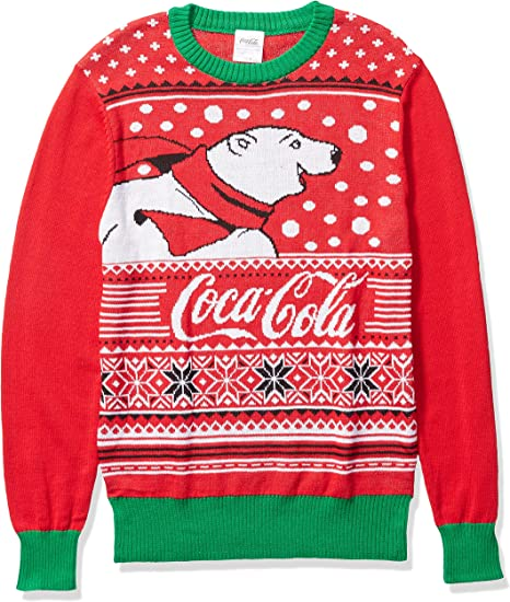 Coca Cola Mens Ugly Christmas Sweater Amazon Ca Clothing Shoes Accessories
