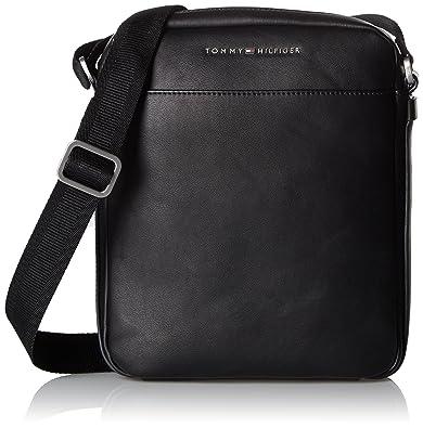 Tommy Hilfiger Crossover, Sacs pour ordinateur portable homme, Black, 3x26x24 cm (W x H L)