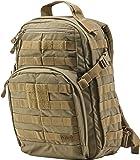 5.11 Tactical Rush 12 – Mochila de trekking, 43cm, 21,2 L, color marrón