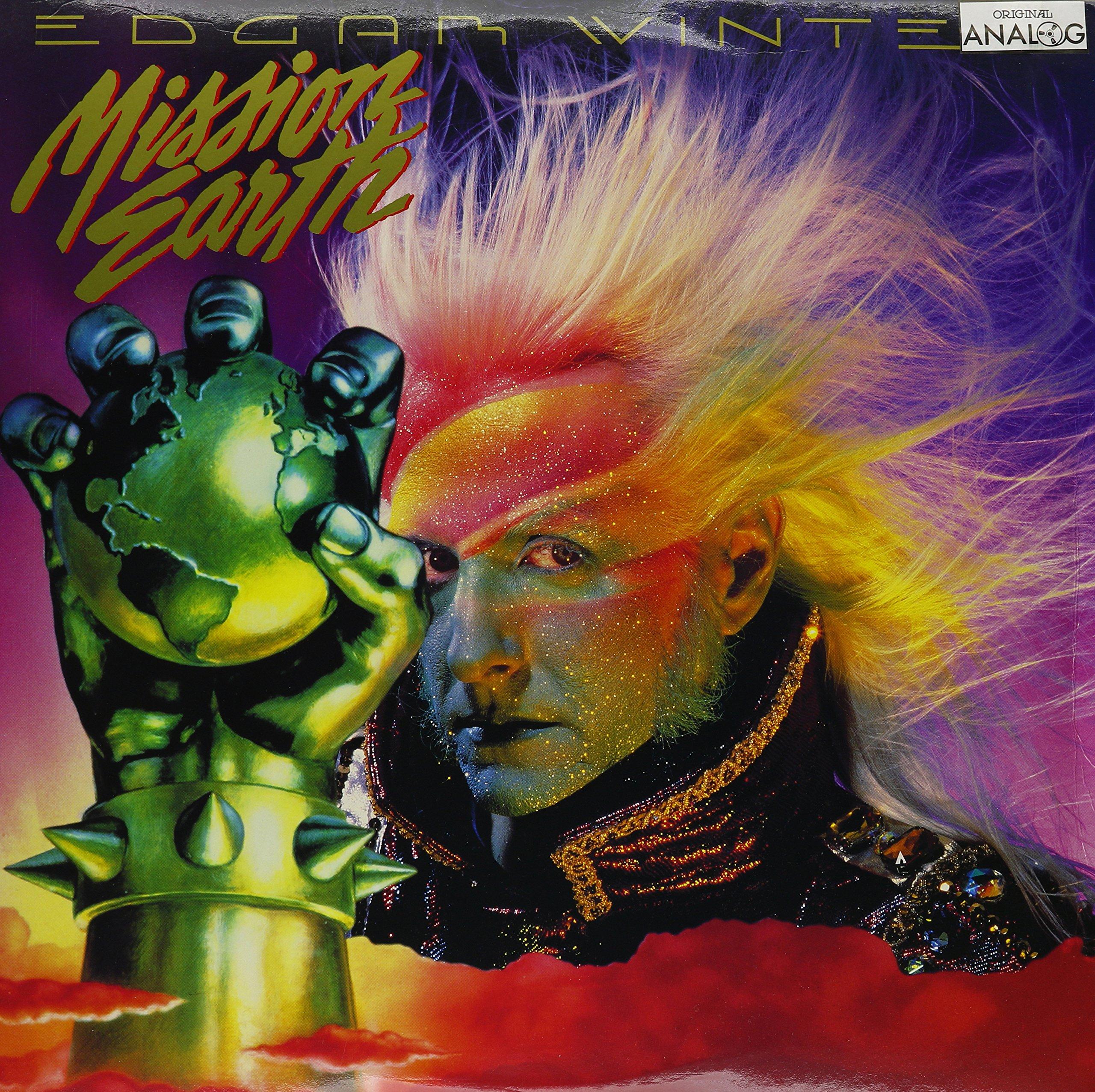 Vinilo : WINTER, EDGAR / HUBBARD, L. RON - Mission Earth (LP Vinyl)