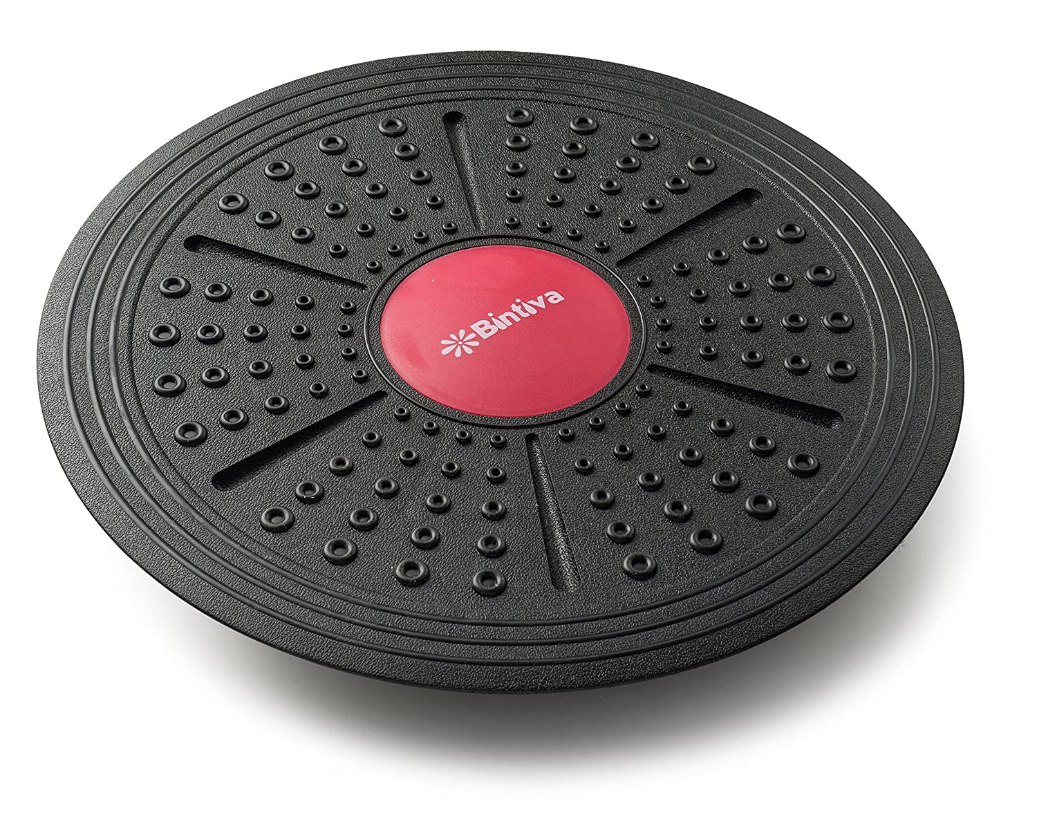 bintiva Adjustable Balance Board, Extra Wide Diameter, for Fitness, Balance, and Stability Training