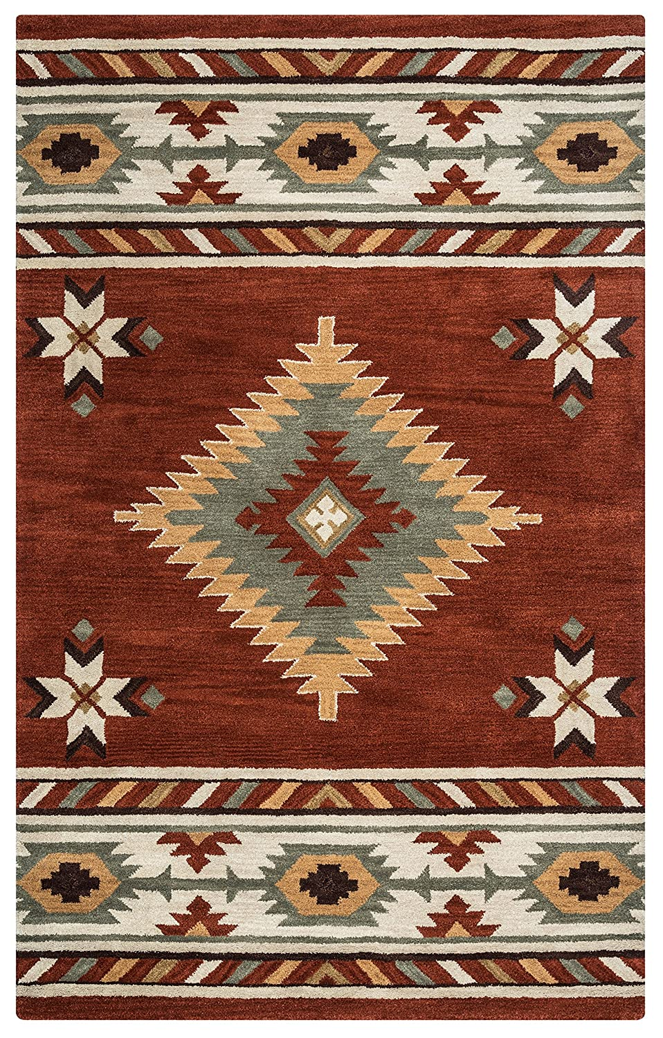 flagstaff weavers by united free shipping southwestern burgundy at rugs area rug contours