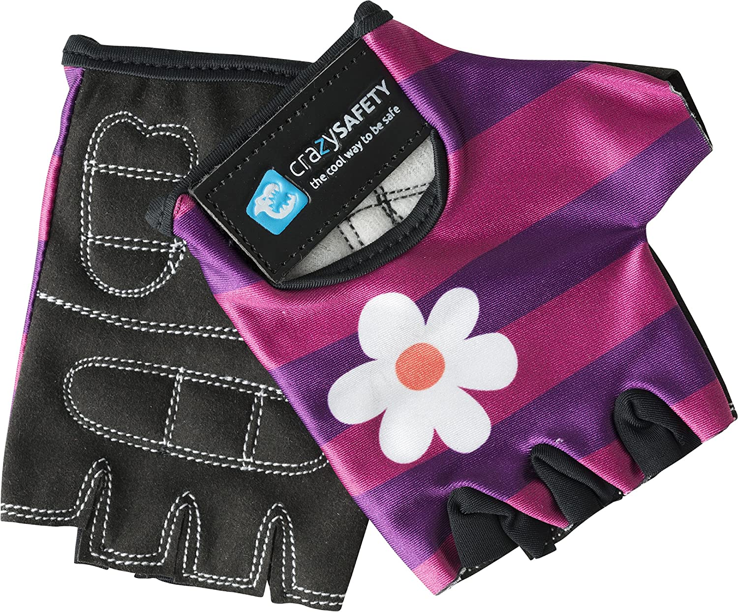 CrazySafety Childrens Cycling Mitts