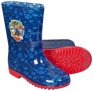 5da1d5ec112c5 nickelodeon-bottes de pluie pat patrouille bleu-garçon (31)  Amazon ...