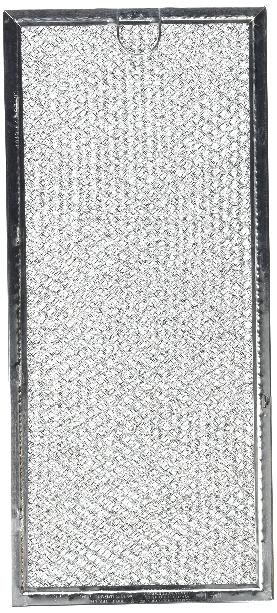 6802A MICROWAVE GREASE FILTER ( 5-7/8'' X 13-3/8'')