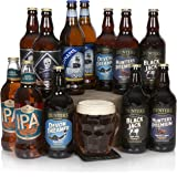 Real Ale & Craft Beer Luxury 12 Bottle Selection - The Perfect Beer Lover Hamper - Dozen Assorted English Real Ales and Craft Beers Box For Him