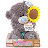 """Me to You SG01W4094 6-Inch Tall """"Tatty Teddy Special Daughter with Sun Flower Bear Sits"""" Plush Toy"""