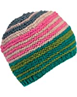 Turtle Fur Women's Nepal Samyukta, Artisan Hand Knit Wool Striped Beanie