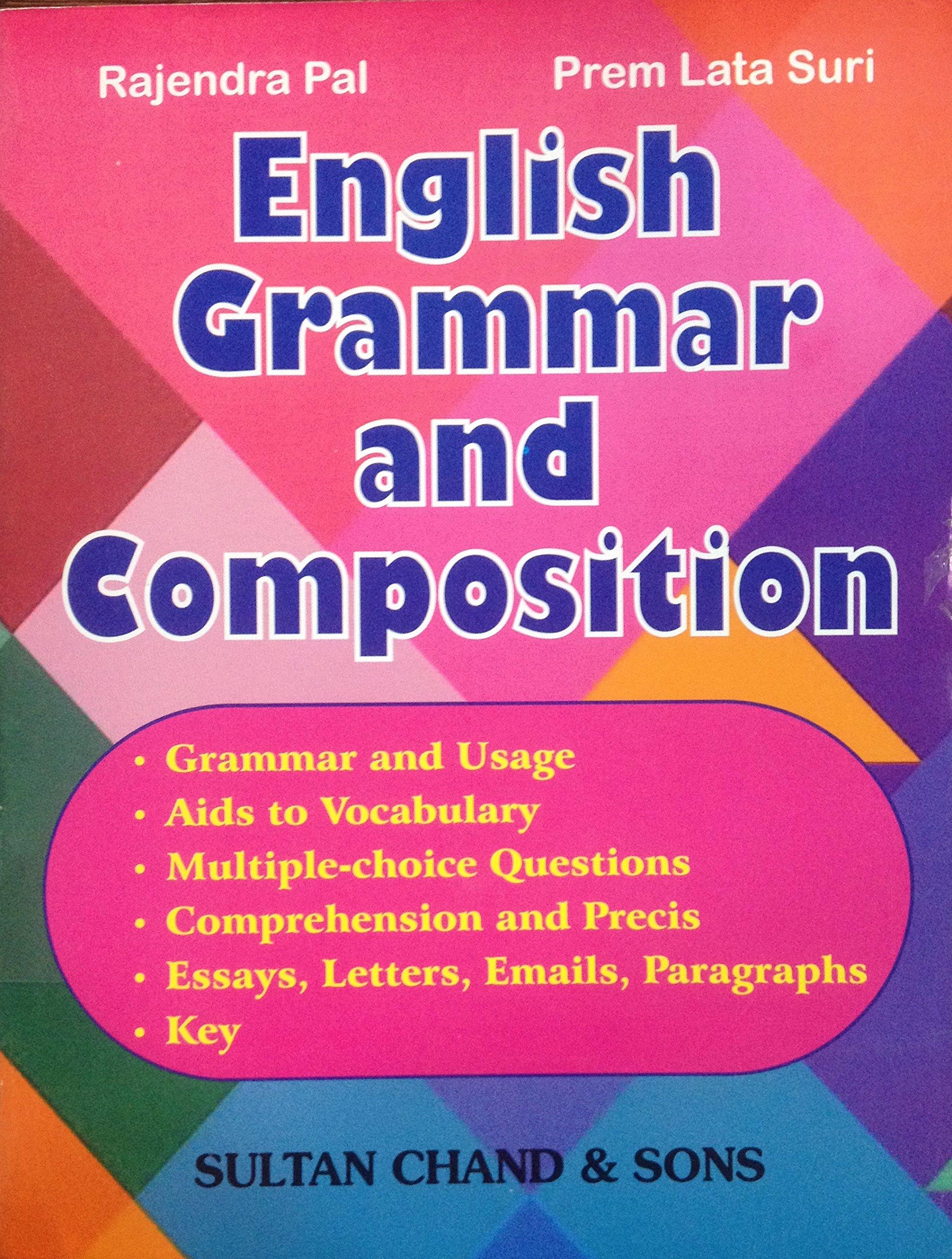 In marathi english grammar book
