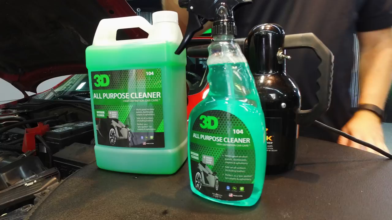 3D All Purpose Cleaner 710ml - Limpia Motor, Alfombras, tapicerías ...