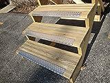 Handi-Treads NSN122730SLB Non Slip Aluminum, Mill