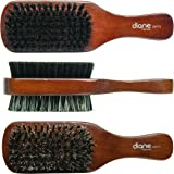 Diane 100% Boar Brush, Medium and Firm Bristles, 2-Sided Club, 1 Count
