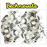Bechnewala Magic Tablet Napkin Compressed Tissue, Candy Pack Of 100 Pieces - White