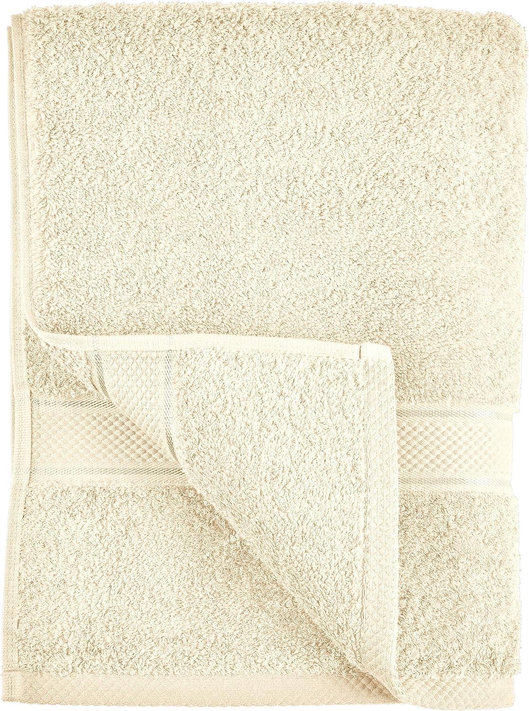 Pinzon 6 Piece Blended Egyptian Cotton Bath Towel Set - Navy: Home & Kitchen