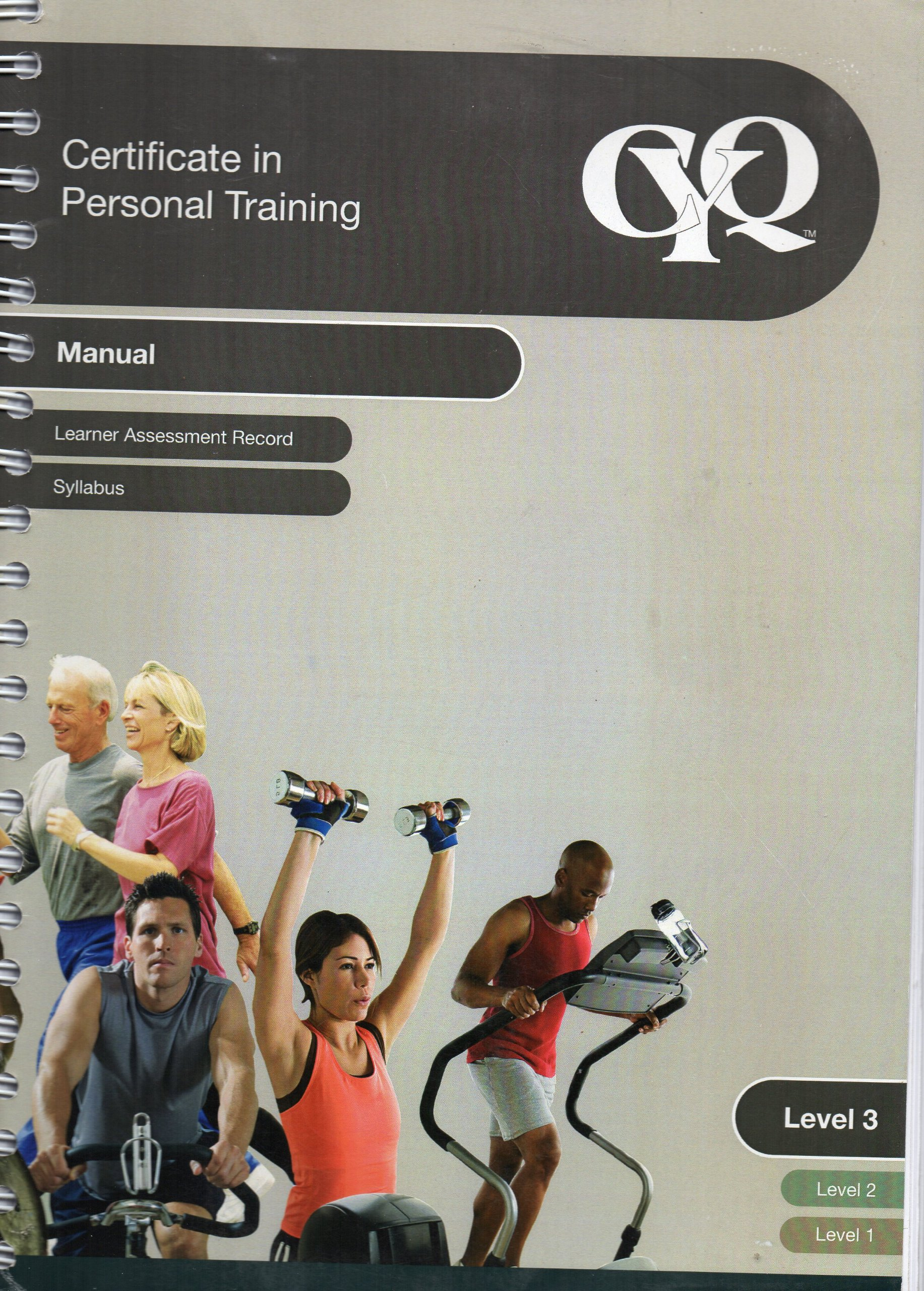 Cyq Certificate In Personal Training Level 3 Manual Learner