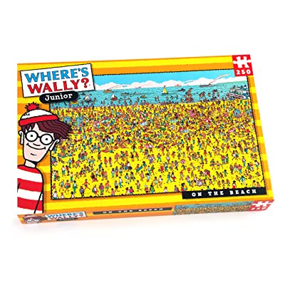 Paul Lamond Where's Wally Beach Puzzle (250-Piece): Toys & Games