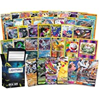Pokémon Rare Bundle: 20 Rare Pokémon Cards, 2 Foil/Holographic Rare Card, 2 Ultra Rare Pokémon Cards Inside a Lightning…