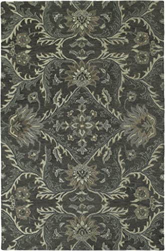Kaleen Amaranta Collection Area Rug, 9 x 12 , Charcoal