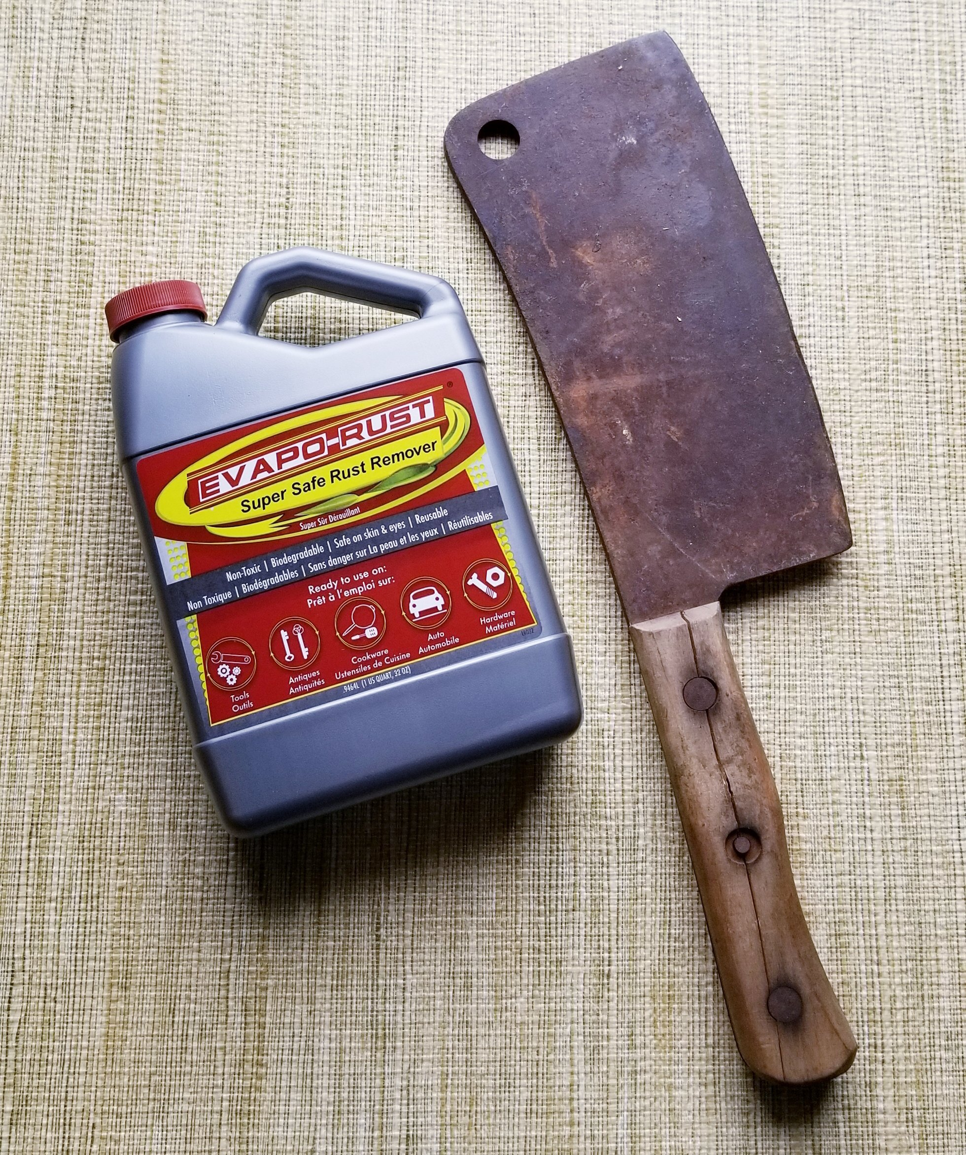 Evapo-Rust The Original Super Safe Rust Remover, Water-based, Non-Toxic, Biodegradable, 5 Gallons by Evapo-Rust (Image #5)