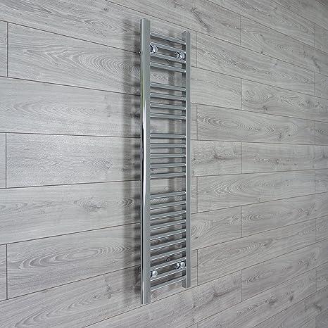 350 mm de ancho x 1200 mm alto toallero recto plano baño radiador de calefacción Central