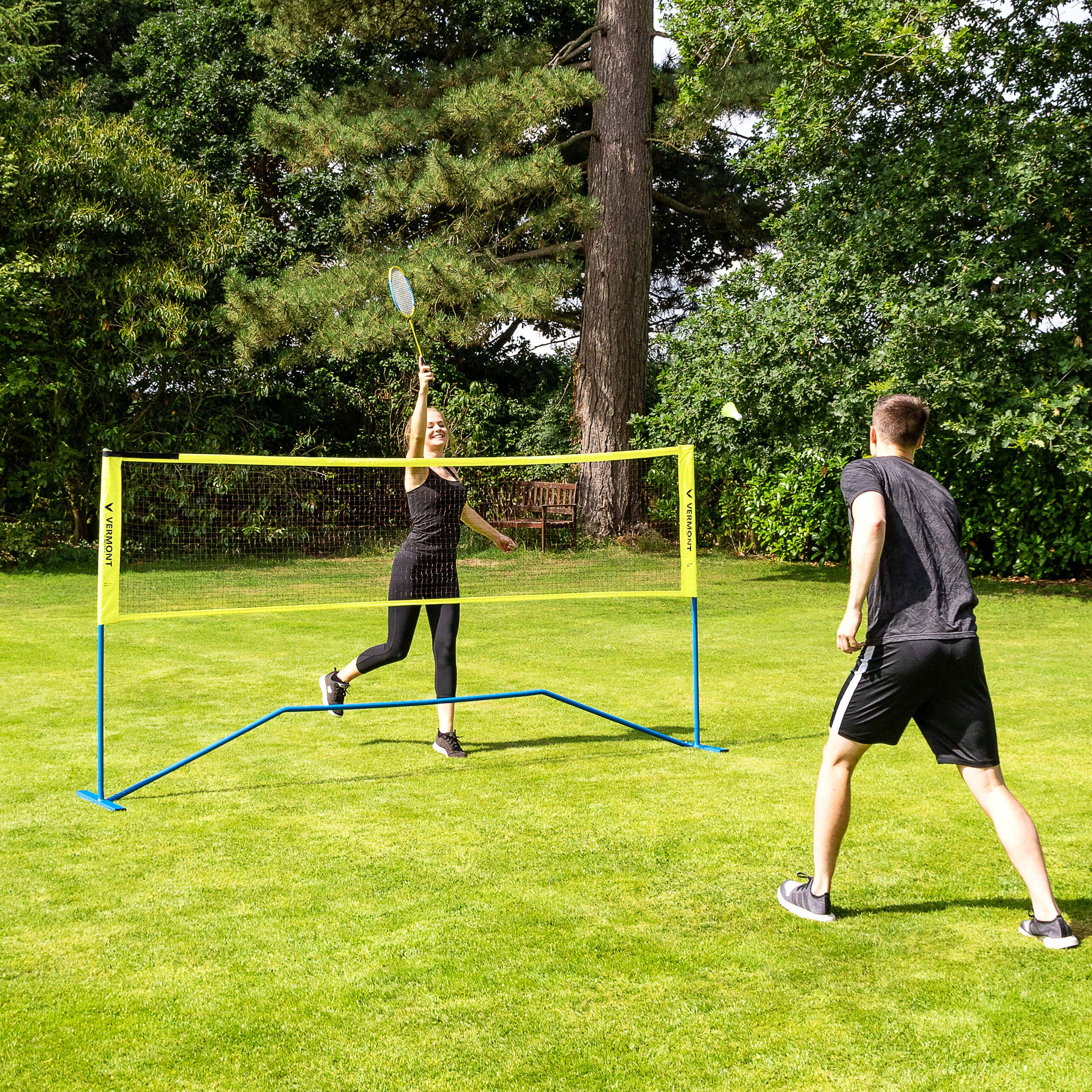 ProCourt Vermont Combi Net | Perfect for Tennis, Badminton, Pickleball, Volleyball & Soccer Tennis | Super Quick Assembly with Steel Poles | Use Indoors, Outdoors, On The Beach Or The Backyard! by ProCourt (Image #6)