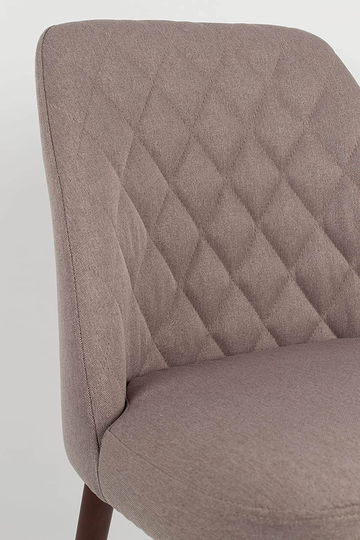Beige Felis Lifestyle 1100332 Conway Set di 2 Sedie Tela 56 x 48 x 85 cm