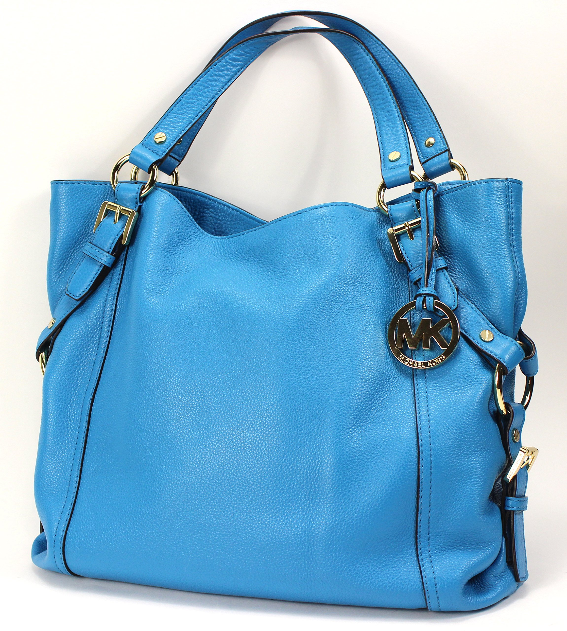 Michael Kors Tristan Large Shoulder Tote in Summer Blue