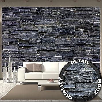 Fototapete 3 D great fototapete 3d effekt black stonewall wandbild dekoration