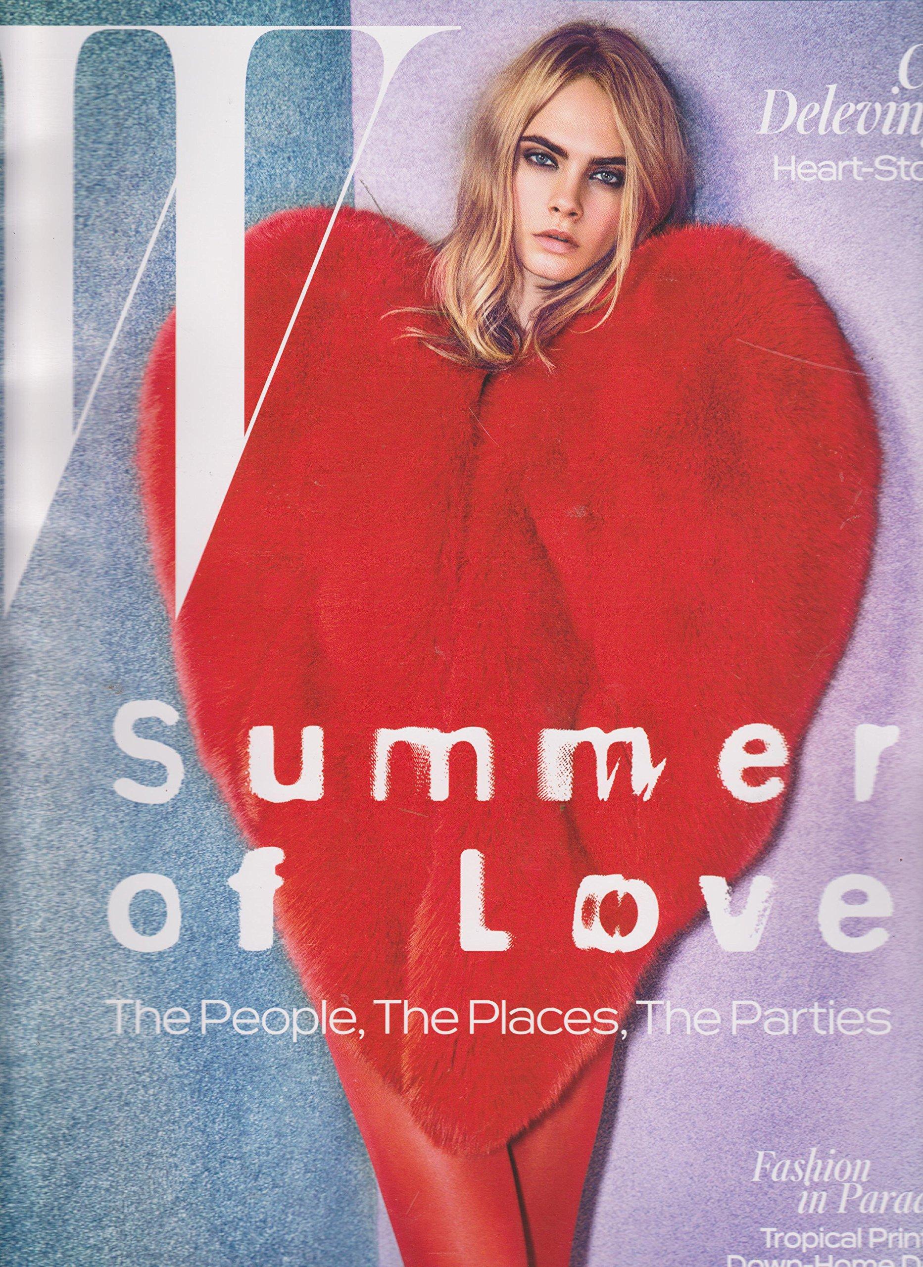 Download W Magazine June/July 2016 Cara Delevigne Summer of Love Cover PDF