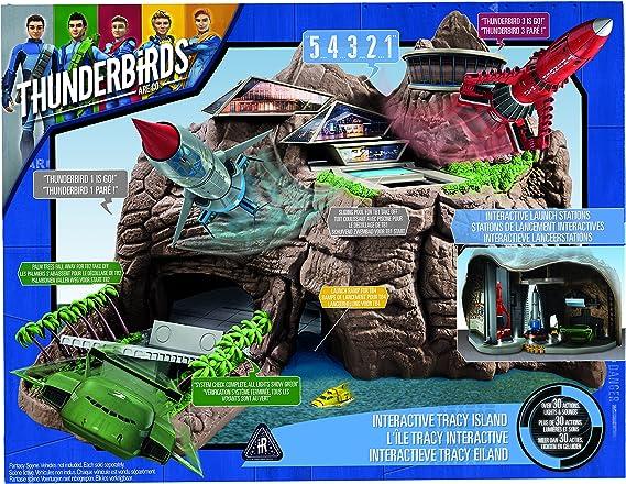 Thunderbirds – 90296.5200 – la Isla Tracy Interactive: Amazon.es: Juguetes y juegos