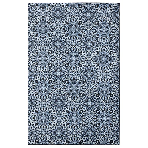 Mohawk Home Amstel Navy Area Rug, 5 x8 ,