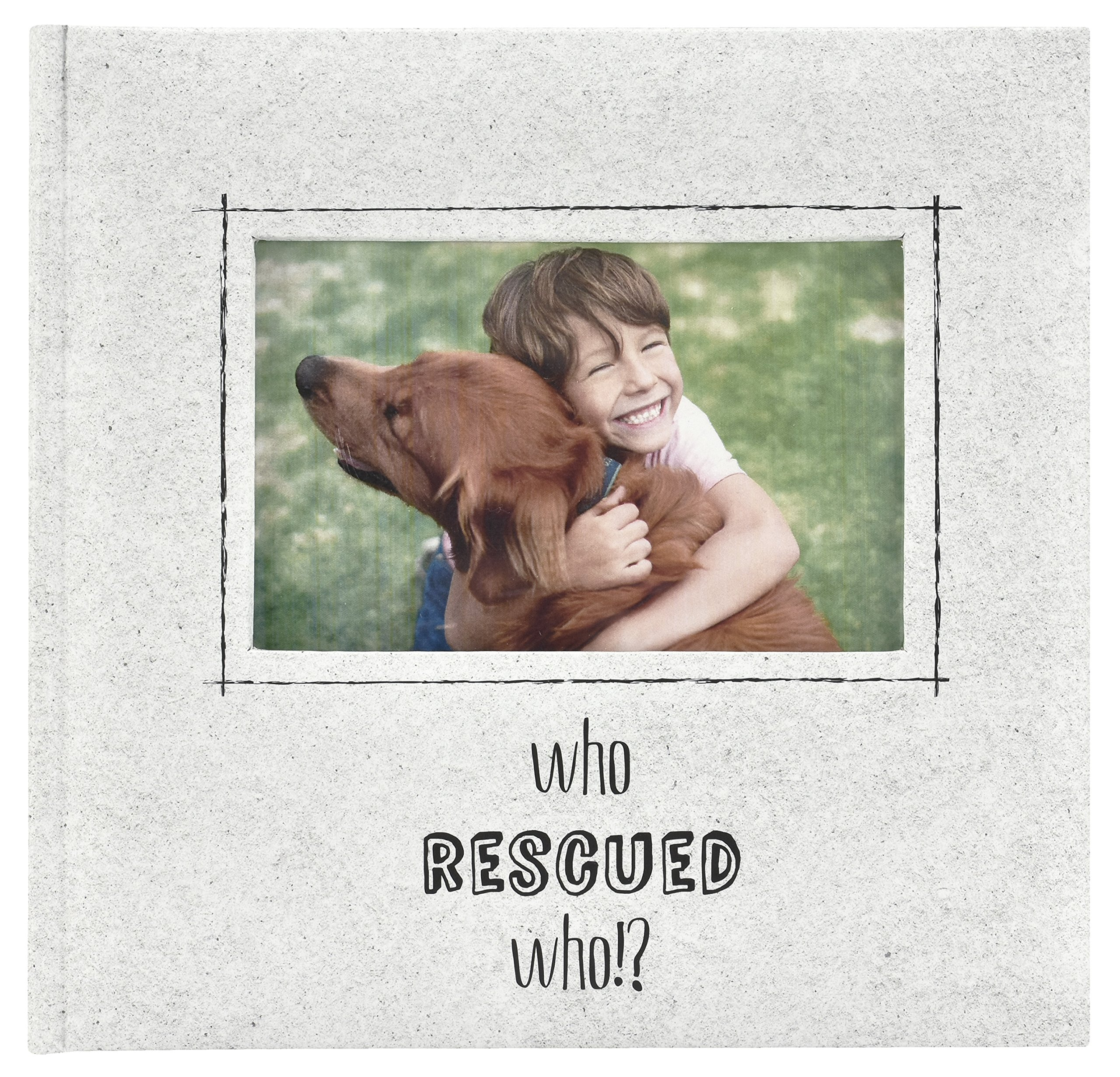MCS Who Who Rescued Who? Who Photo Album, 8.5 x 8.5, Ivory by MCS