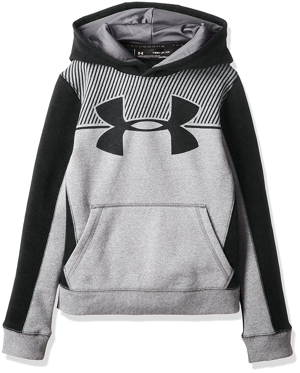 Under Armour Junior Boys EU Cotton Fleece Pullover Hoodie UA Kids Sports Top
