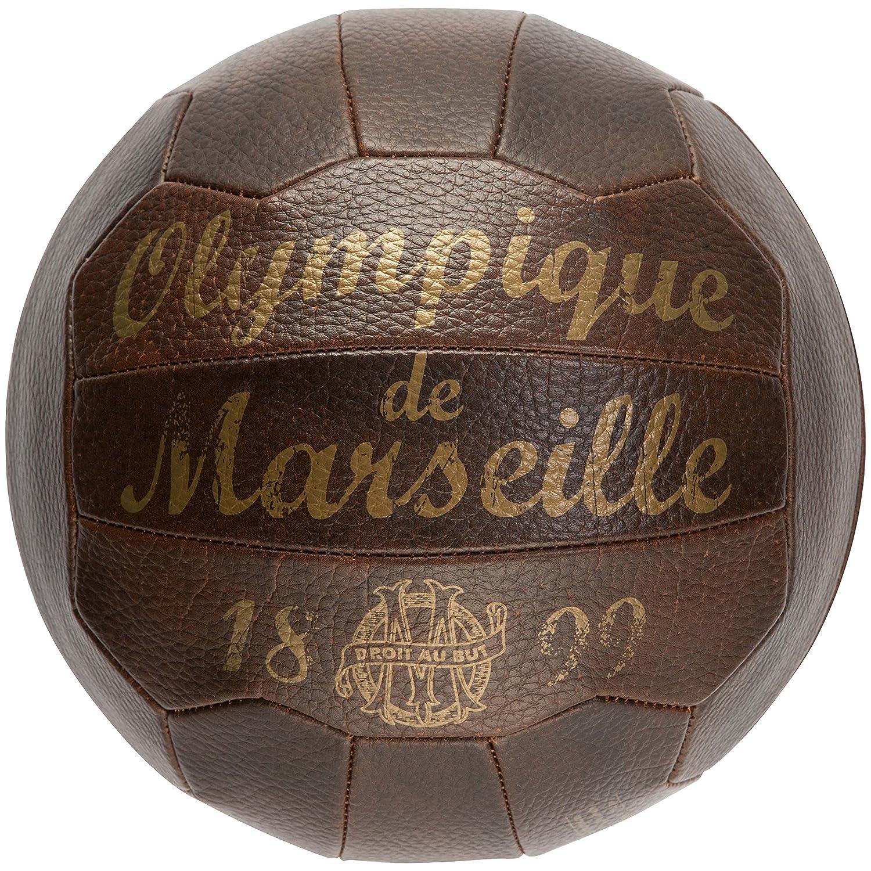 Balón retro oficial del club de fútbol Olympique de Marsella ...