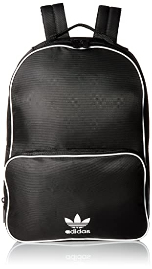 2075e9f0a72 Amazon.com: adidas Originals Santiago Backpack, Black, One Size ...