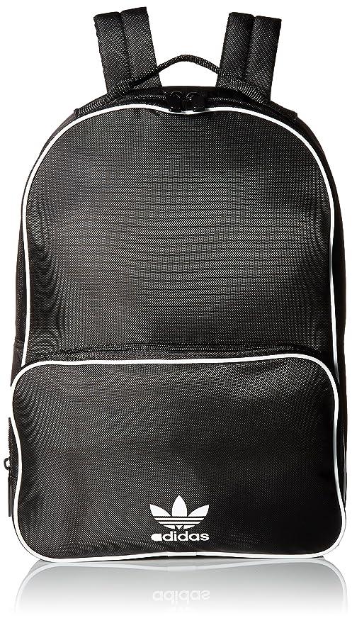 3d2c577fcc Amazon.com: adidas Originals Santiago Backpack, Black, One Size: Clothing