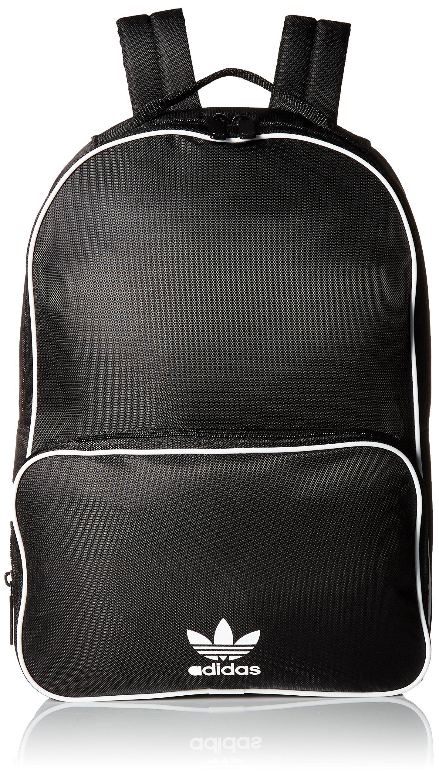 adidas Originals Santiago Backpack, Black, One Size by adidas