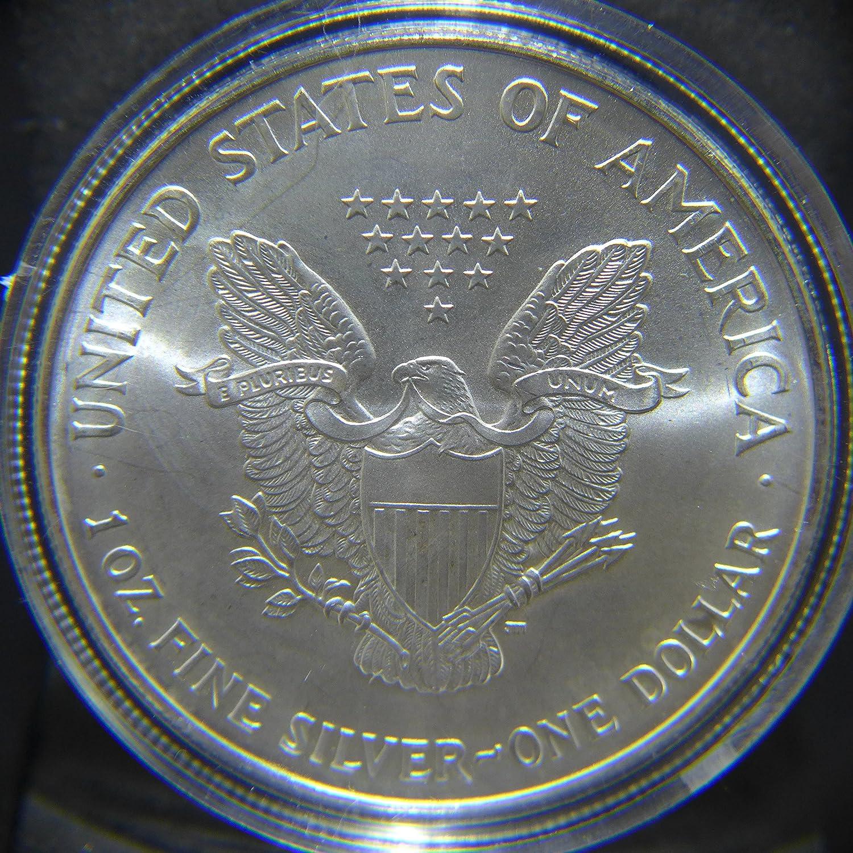 Off Quality Dollar Brilliant Uncirculated Silver 1995 American Eagle 1 oz