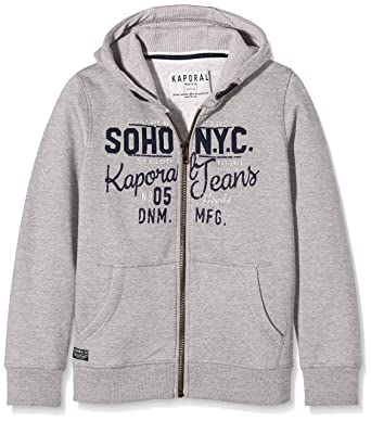 1933b10088a6e Kaporal Guter - Sweat-shirt à capuche - Imprimé - Manches longues - Garçon -