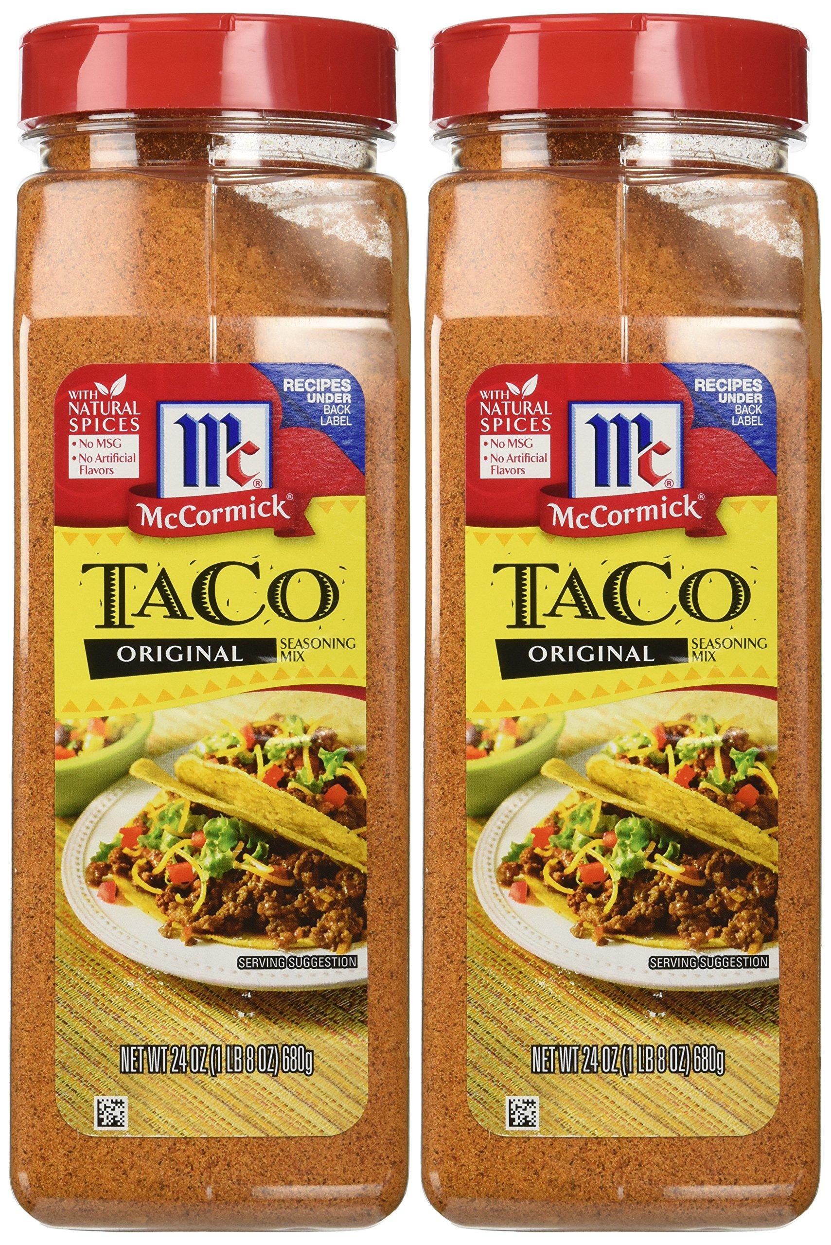 Mccormick Original Taco Seasoning Mix 680g Tub Buy Online In Belize At Belize Desertcart Com Productid 50211316