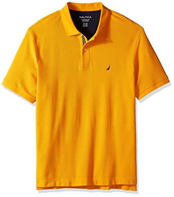 7af9df53 Amazon.com: Nautica Men's Big and Tall Short Sleeve Solid Deck Polo Shirt:  Clothing
